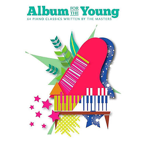 Music Sales Album For The Young - 64 Piano Classics Written By The Masters-thumbnail