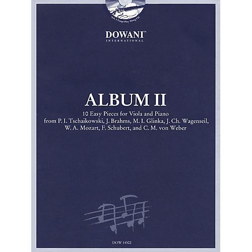 Dowani Editions Album Vol. II (Easy) Viola and Piano (10 Easy Pieces for Viola and Piano) Dowani Book/CD Series