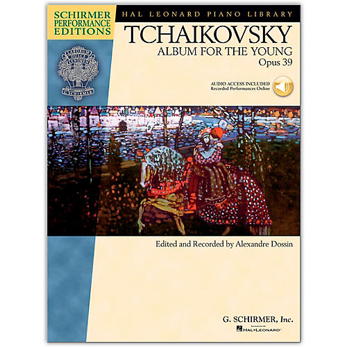 G. Schirmer Album for The Young Op. 39 Piano By Tchaikovsky/Dossin  (Book/Online Audio)-thumbnail