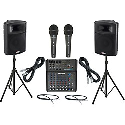 Alesis Multimix 8 USB FX / Harbinger APS15 PA Package