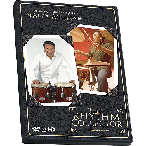 The Drum Channel Alex Acuna - The Rhythm Collector DVD-thumbnail