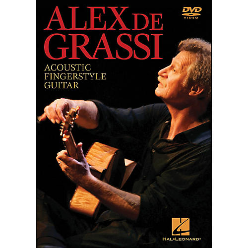 Hal Leonard Alex De Grassi - Acoustic Fingerstyle Guitar Instructional (DVD)
