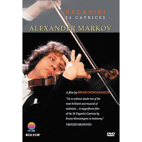 Kultur Alexander Markov: Paginini's 24 Caprices DVD