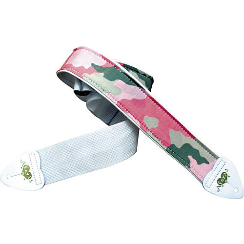 LM Products Alexis Camo Guitar Strap-thumbnail