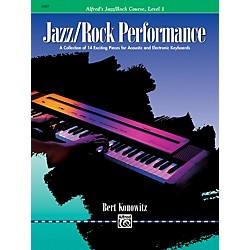 Alfred Alfred's Basic Jazz/Rock Course Performance Level 1 (00-6487)