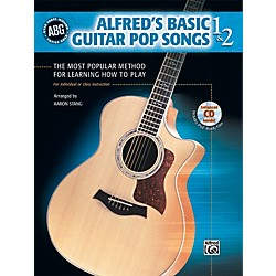Alfred Basic Guitar Pop Songs 1 and 2 (Book/CD) (00-28365)