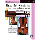 Alfred Beautiful Music for Two String Instruments Book I 2 Basses (00-EL02202)