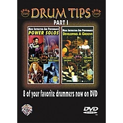 Alfred Drum Tips Part I - Power Solos/Developing a Groove DVD (00-904830)