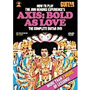 Alfred Guitar World How To Play The Jimi Hendrix Experience's Axis: Bold As Love (DVD) (56-31970)
