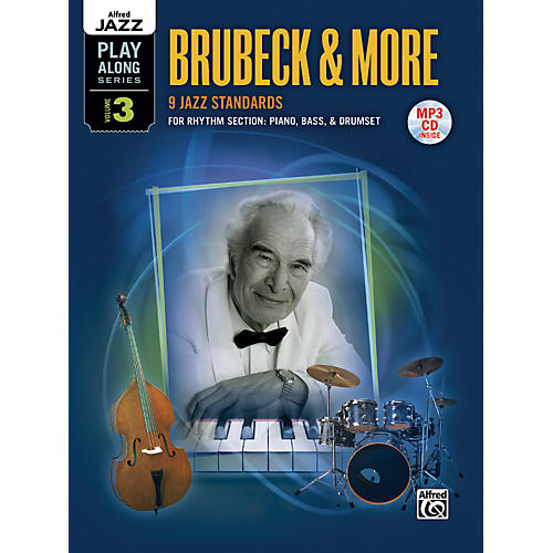 Alfred Alfred Jazz Play-Along Series, Vol. 3: Brubeck & More Flexible Instrumentation Book & CD-thumbnail