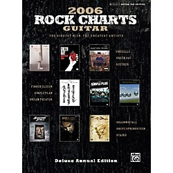 Alfred Rock Charts Guitar 2006: Deluxe Annual Edition (The Biggest Hits, the Greatest Artists) Guitar Tab B (00-25390)