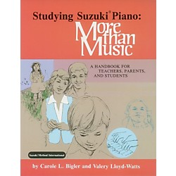 Alfred Studying Suzuki Piano: More Than Music (Book) (00-0586)