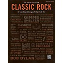 Alfred The Guitar Collection: Classic Rock 43 Landmark Songs of the Rock Era TAB Book (00-44131)