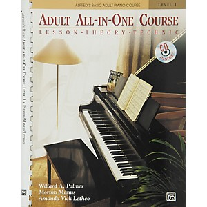 Alfred Alfreds Basic Adult All-in-One Course Book 1 Book 1 and CD by Alfred