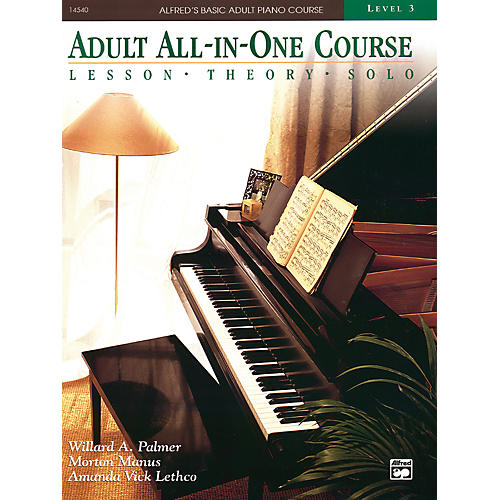 Alfred Alfred's Basic Adult All-in-One Course Book 3-thumbnail