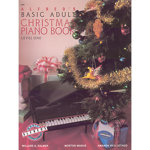 Alfred Alfred's Basic Adult Piano Course Christmas Piano Book 1-thumbnail