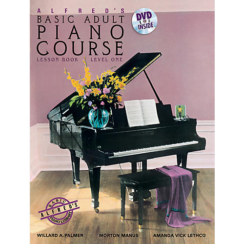 Alfred Alfred's Basic Adult Piano Course Lesson Book 1 & DVD-thumbnail