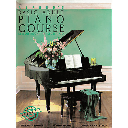 Alfred Alfred's Basic Adult Piano Course Lesson Book 2-thumbnail