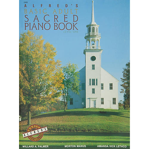 Alfred Alfred's Basic Adult Piano Course Sacred Book 1