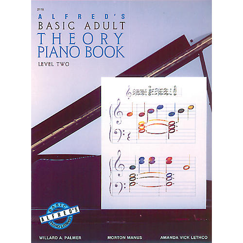 Alfred Alfred's Basic Adult Piano Course Theory Book 2