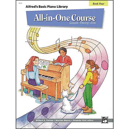 Alfred Alfred's Basic All-in-One Course for Children Book 4-thumbnail