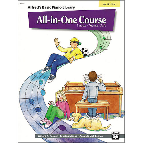 Alfred Alfred's Basic All-in-One Course for Children Book 5-thumbnail