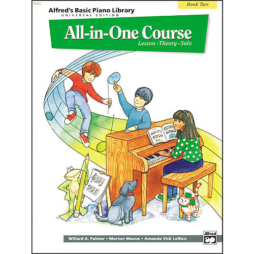 Alfred Alfred's Basic All-in-One Course for Children Universal Edition Book 2-thumbnail