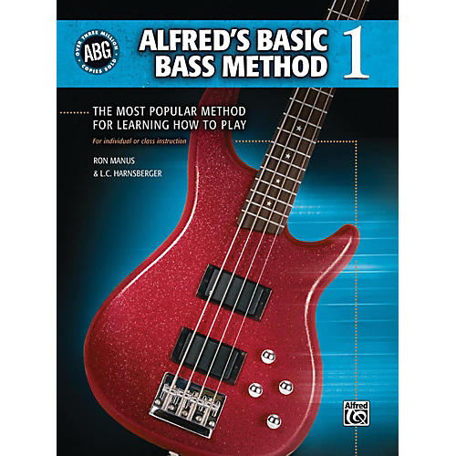 Alfred Alfred's Basic Bass Method Book 1-thumbnail