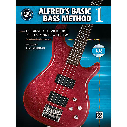 Alfred Alfred's Basic Bass Method Book & CD 1