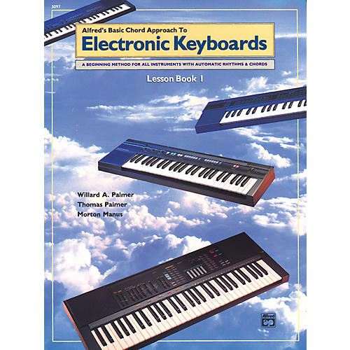 Alfred Alfred's Basic Chord Approach to Electronic Keyboards Lesson Book 1-thumbnail