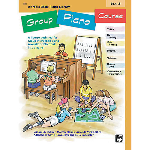 Alfred Alfred's Basic Group Piano Course Book 3 Book 3-thumbnail