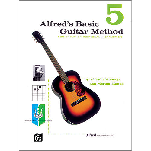 Alfred Alfred's Basic Guitar Method Book 5-thumbnail