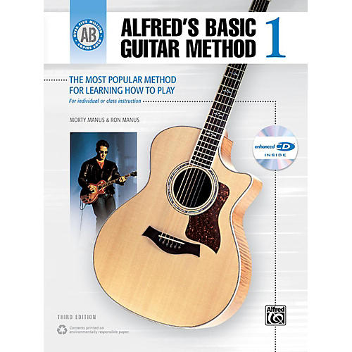 Alfred Alfred's Basic Guitar Method Level 1 Book and Enhanced CD