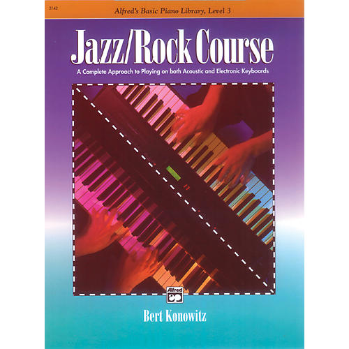 Alfred Alfred's Basic Jazz/Rock Course Lesson Book Level 3-thumbnail