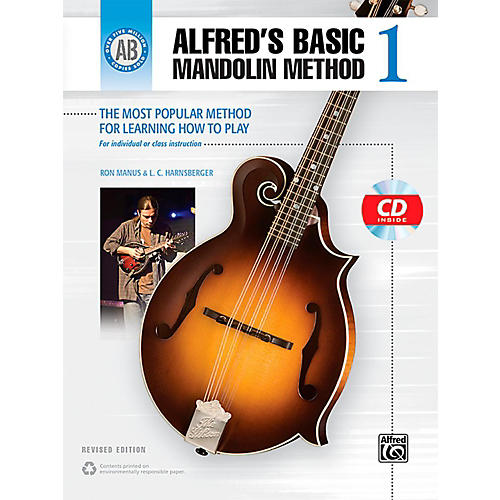 Alfred Alfred's Basic Mandolin Method 1 (Revised) Book & CD-thumbnail