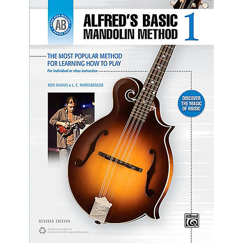 Alfred Alfred's Basic Mandolin Method 1 (Revised) Book-thumbnail