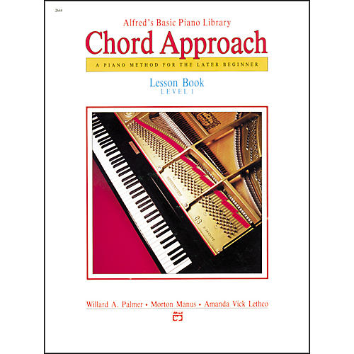 Alfred Alfred's Basic Piano Chord Approach Lesson Book 1-thumbnail