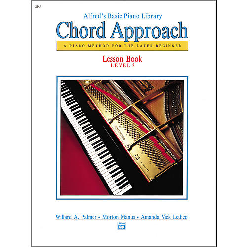 Alfred Alfred's Basic Piano Chord Approach Lesson Book 2-thumbnail