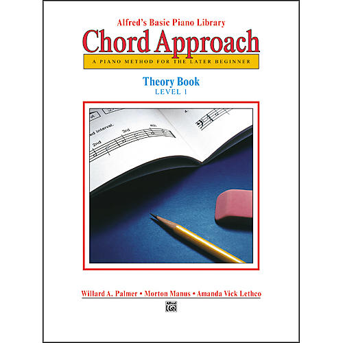 Alfred Alfred's Basic Piano Chord Approach Theory Book 1-thumbnail