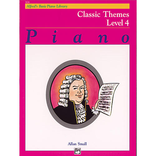 Alfred Alfred's Basic Piano Course Classic Themes Book 4