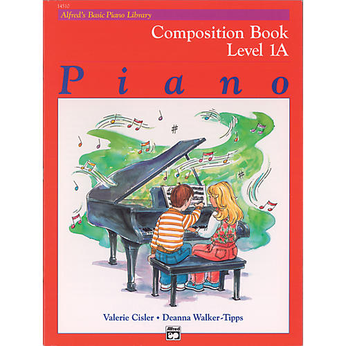 Alfred Alfred's Basic Piano Course Composition Book 1A-thumbnail