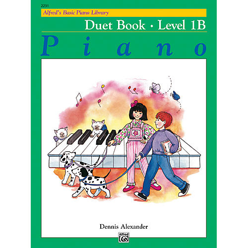 Alfred Alfred's Basic Piano Course Duet Book 1B-thumbnail