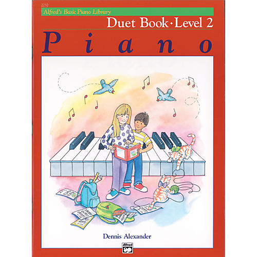 Alfred Alfred's Basic Piano Course Duet Book 2-thumbnail