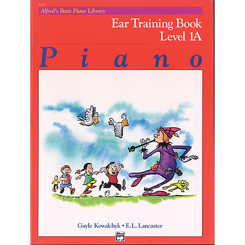 Alfred Alfred's Basic Piano Course Ear Training Book 1A-thumbnail