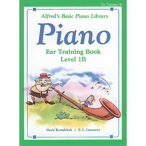 Alfred Alfred's Basic Piano Course Ear Training Book 1B-thumbnail