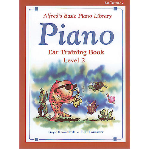 Alfred Alfred's Basic Piano Course Ear Training Book 2-thumbnail
