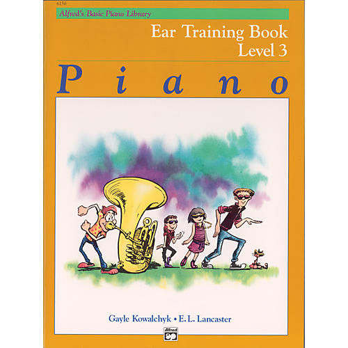 Alfred Alfred's Basic Piano Course Ear Training Book 3