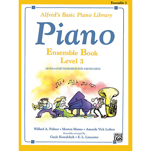 Alfred Alfred's Basic Piano Course Ensemble Book 3-thumbnail