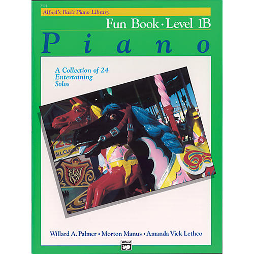 Alfred Alfred's Basic Piano Course Fun Book 1B-thumbnail