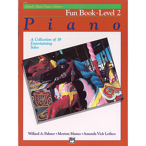 Alfred Alfred's Basic Piano Course Fun Book 2-thumbnail